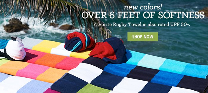 New Colors - Over 6 Feet of Softness