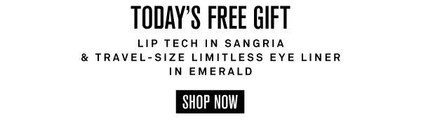 Lip Tech in Sangria & Travel-Size Eye Liner in Emerald