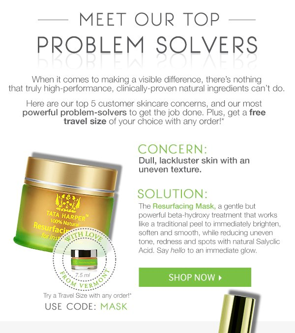 Free Deluxe Samples of Top Problem Solvers!