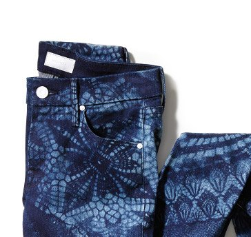 4. printed denim