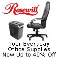 Rosewill - Your Everyday Office Supplies Now Up To 40% Off.