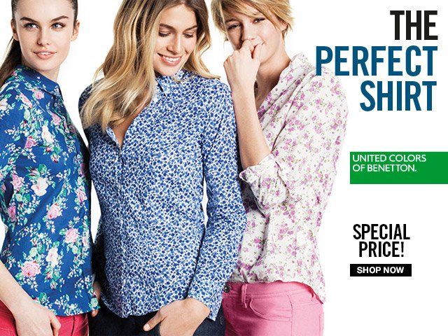 Discover the perfect shirt in a range of prints for Spring!
