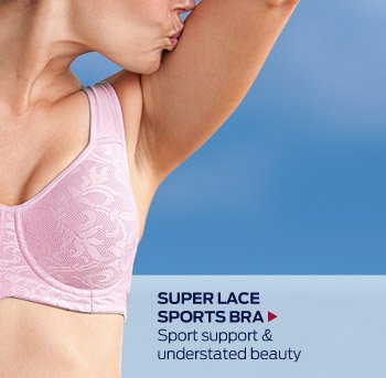 Super Lace Sports Bra >