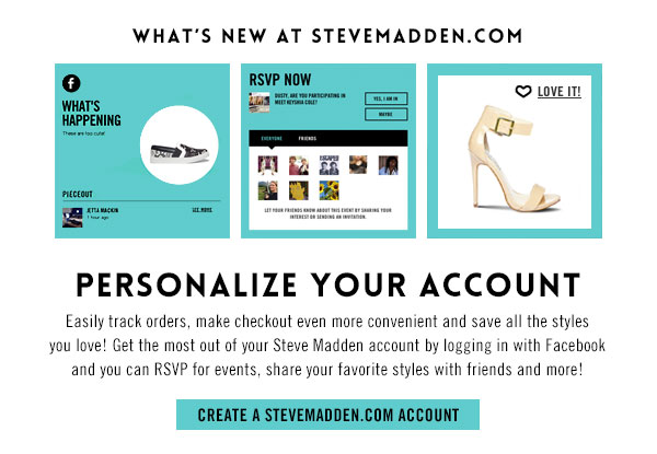 Personalize Your Account