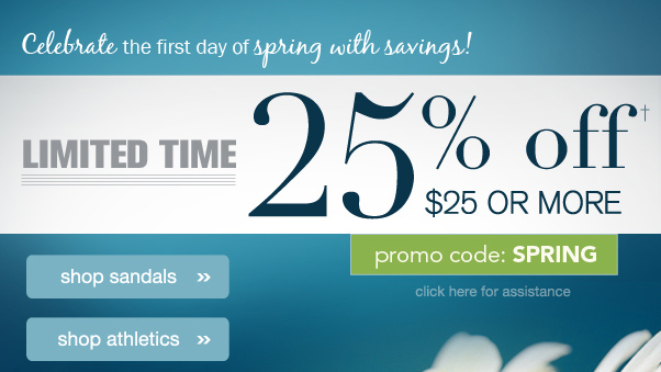 25% Off $25+! We See Sunny Savings In Our Forecast...