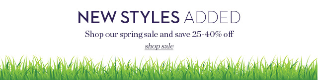 New styles added to our sale!