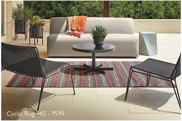 Cyclo rug $45 - $599