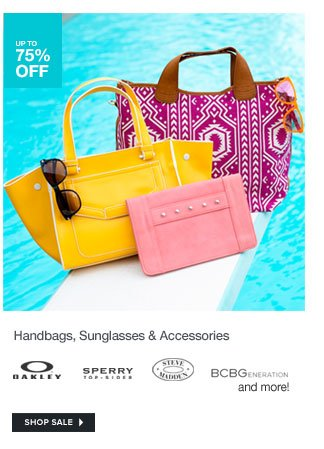 Handbags, Sunglasses and Accessories