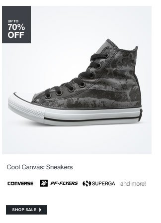 Cool Canvas: Sneakers