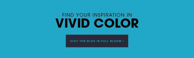 Find your inspiration in vivid color. Visit the blog in full bloom.