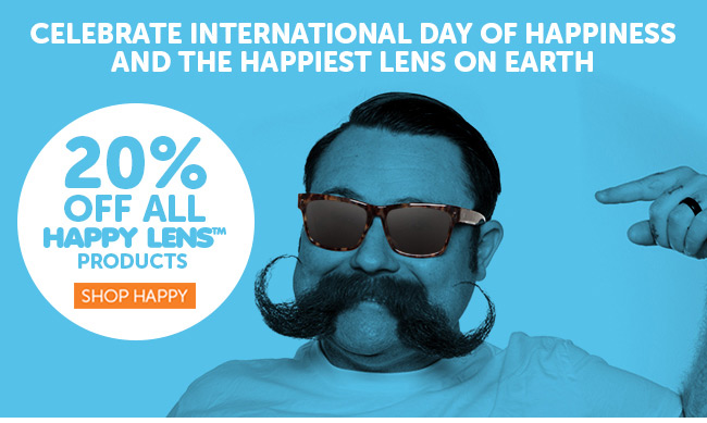 Shop Happy Lens with 20% Off