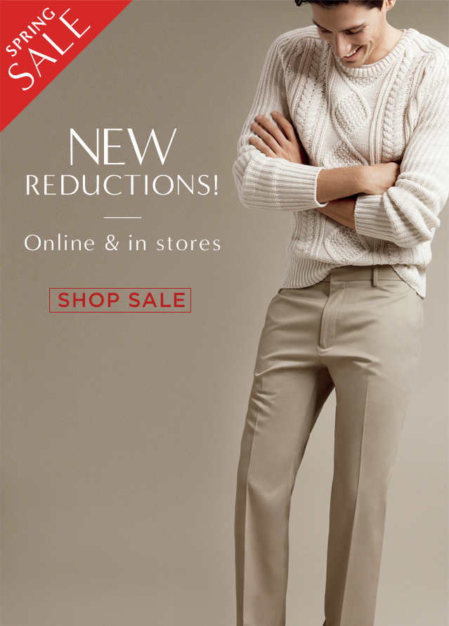 NEW REDUCTIONS! | Online & in stores | SHOP SALE