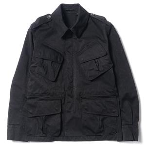 Ten c Parachute Jacket - 2 Nero/Black