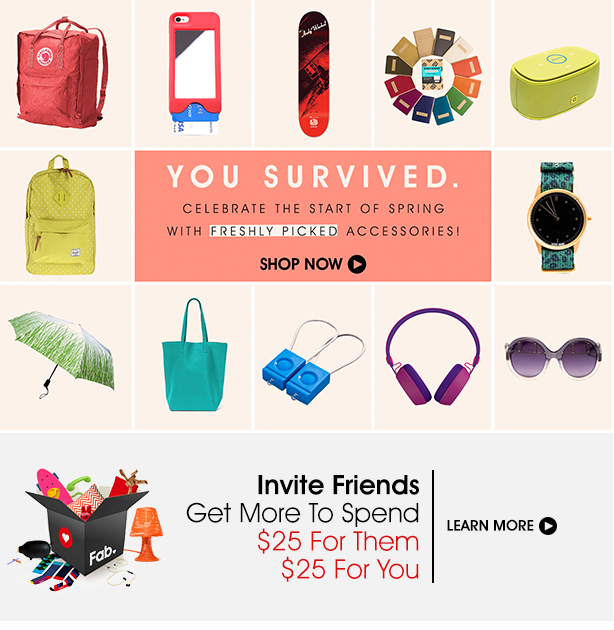 Celebrate the Start of Spring with Freshly Picked Accessories