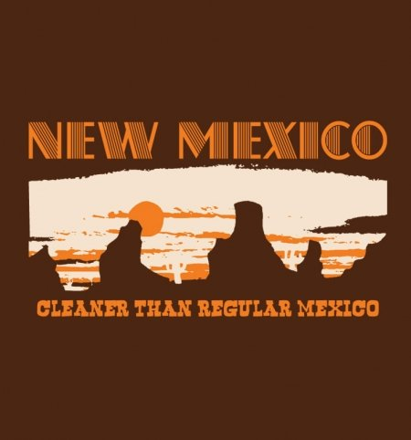 New Mexico: Cleaner Than Regular Mexico