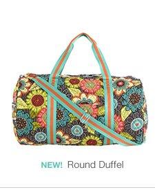 New! Round Duffel