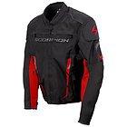 Scorpion Men's 'Battalion' Black/Red Textile Jacket