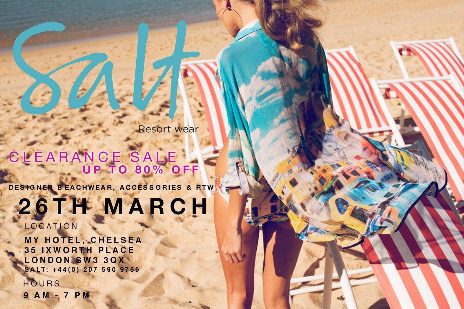 End of Season sale - Up to 50% off at Salt Resort Wear