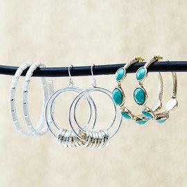 How to Wear: Hoop Earrings