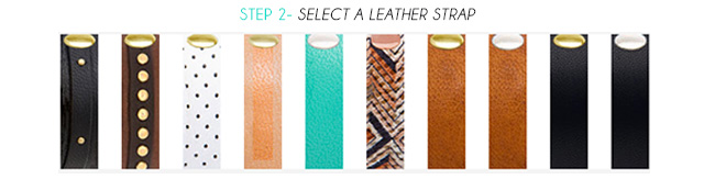 Step 2 - Select a Leather Strap