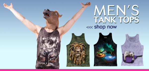 Men's Tank Tops. Shop now!
