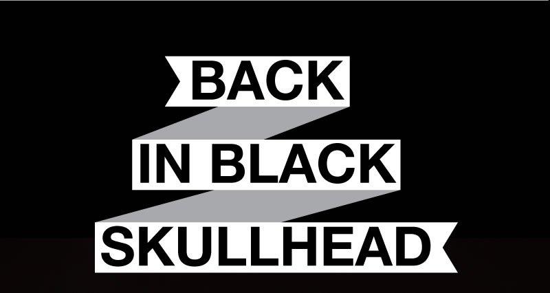 Back in black Skullhead