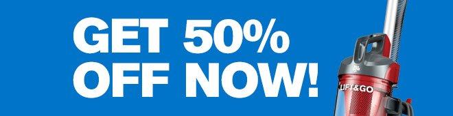Get 50% Off Now