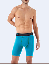 Icon Boxer Brief in Blue Radiance