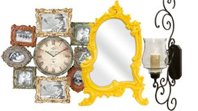 Wall Sconces, Mirrors and more