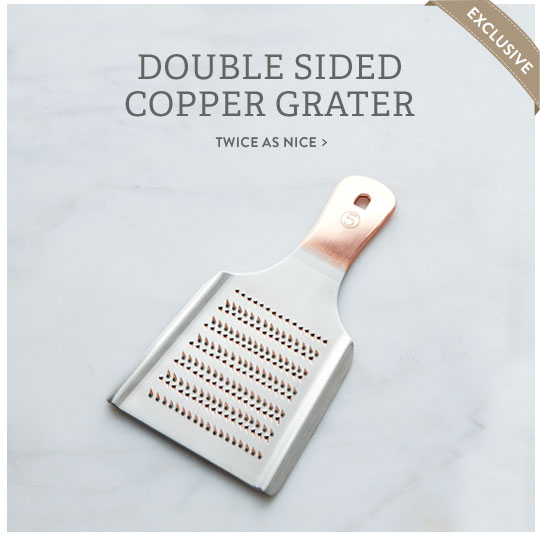 Copper Grater