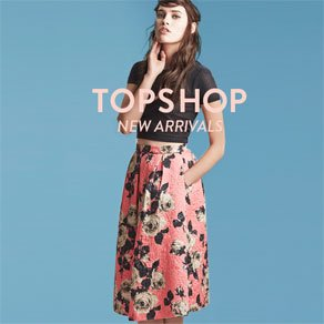 TOPSHOP - NEW ARRIVALS