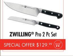 ZWILLING Pro 2 pc Set