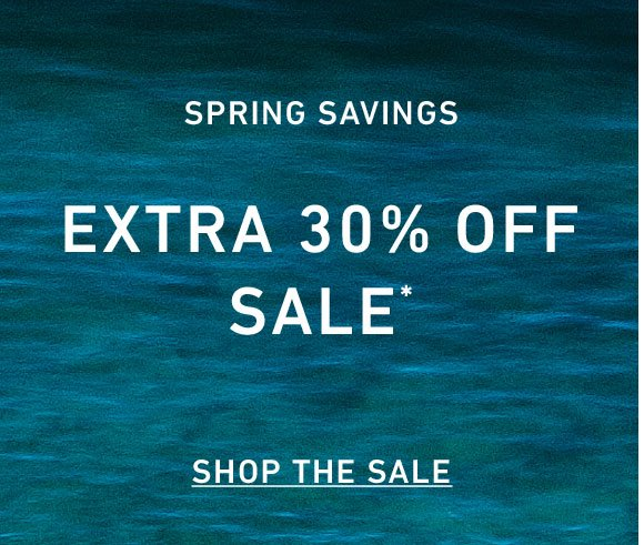 Extra 30% Off New Spring Markdowns