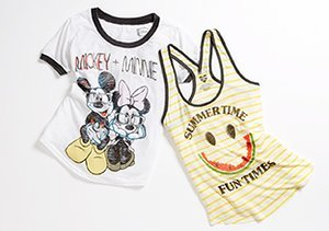 Punk Rock Princess: Girls' Tees