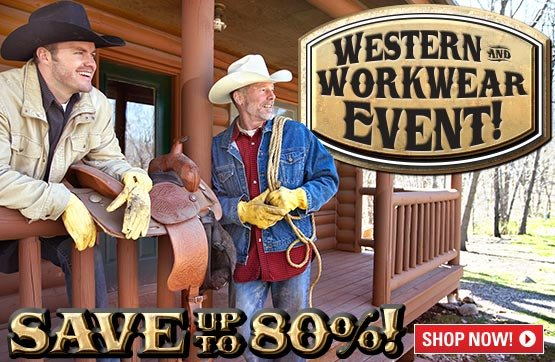 Sportsman's Guide's Western & Workwear Event! Save Up To 80%!