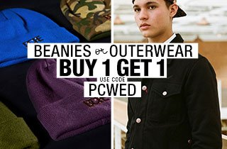 Pick & Choose Beanies or Outerwear