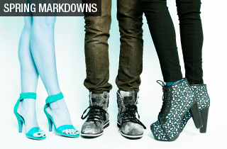 Footwear as low as $6
