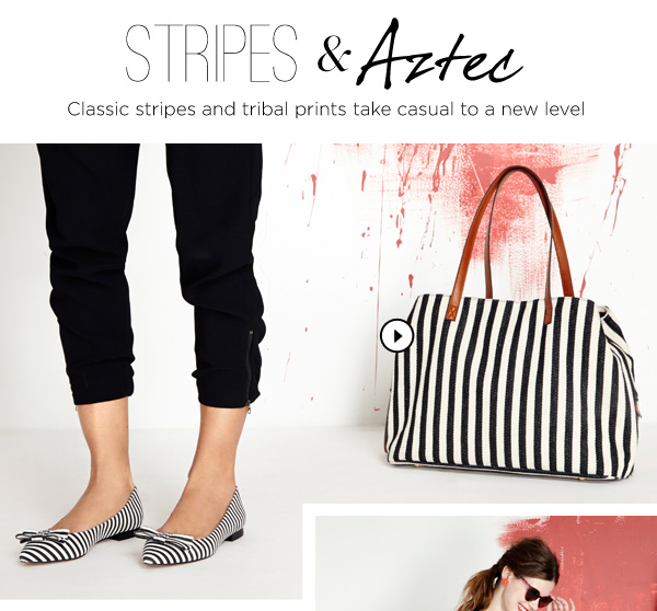Stripes & Aztec. Shop Millie