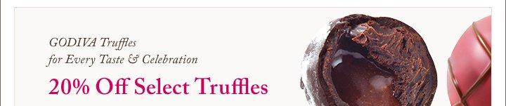 GODIVA Truffles for Every Taste & Celebration