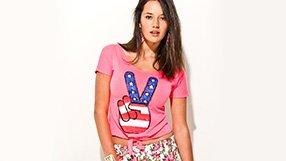 South Beach Stripes Skirts, Capris & Tees