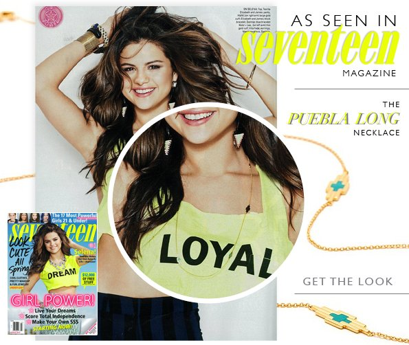 As Seen on Starlet Selena Gomez
