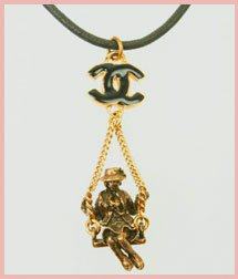Chanel Coco Swing Necklace