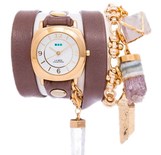 Topanga Crystals Wrap Watch