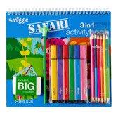 safari activity 3 in 1 kit