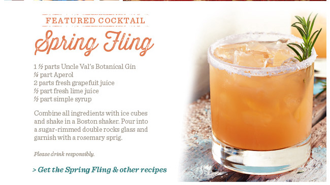 Get The Spring Fling & Other Recipes