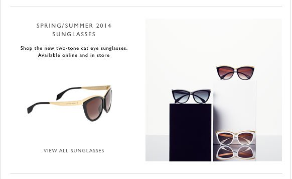 New Season Sunglasses Now Available Online