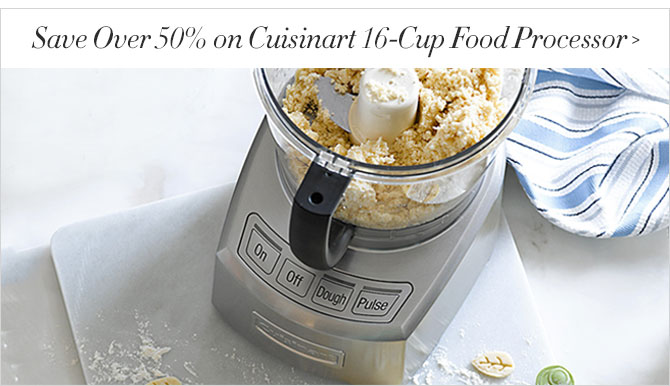 Save Over 50% on Cuisinart 16-Cup Food Processor