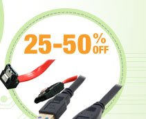 25-50% OFF SELECT CABLES*