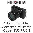 Fujifilm - 10% Off Fujifilm Cameras