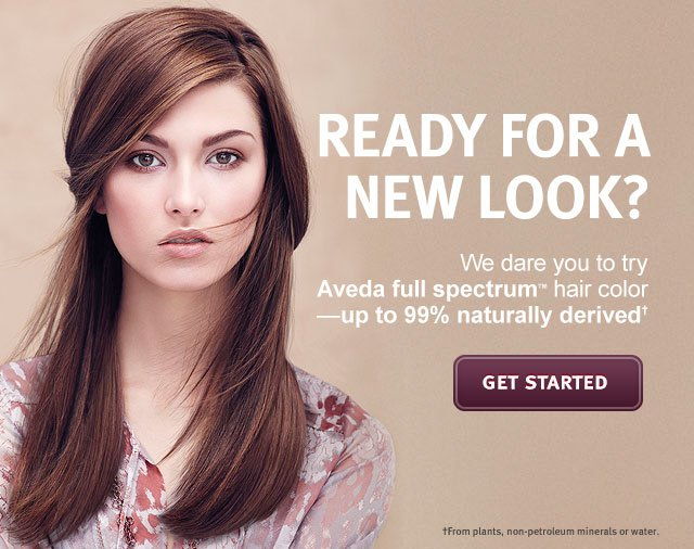 Aveda We Dare You To Try Aveda Full Spectrum Hair Color Milled